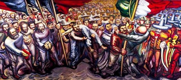 Revolucion Mexicana Mural Mural-revolucion-mexicana