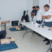 La Fundación de Parques y Museos de Cozumel (FPMC) capacita a su personal en protección civil